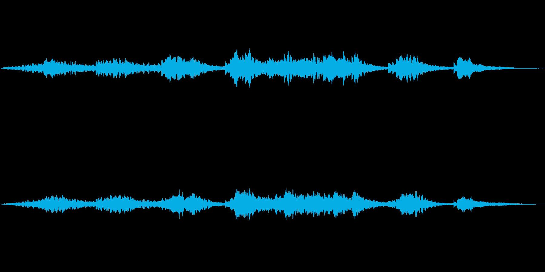 寂しげなアンビエントジングルの再生済みの波形