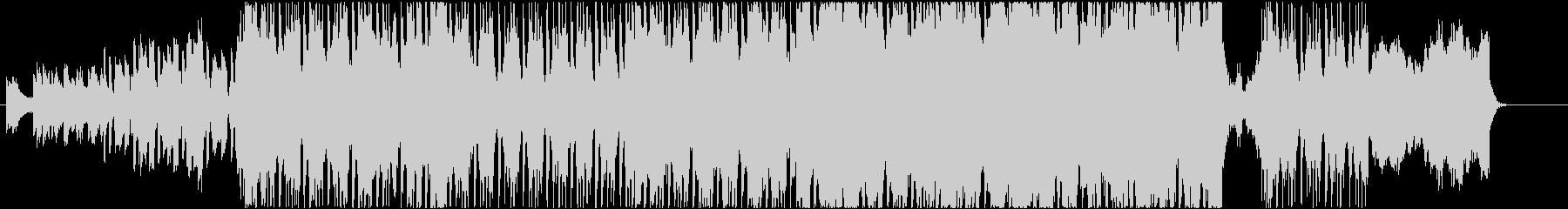ストリングスが壮大なアラビアンロックの未再生の波形