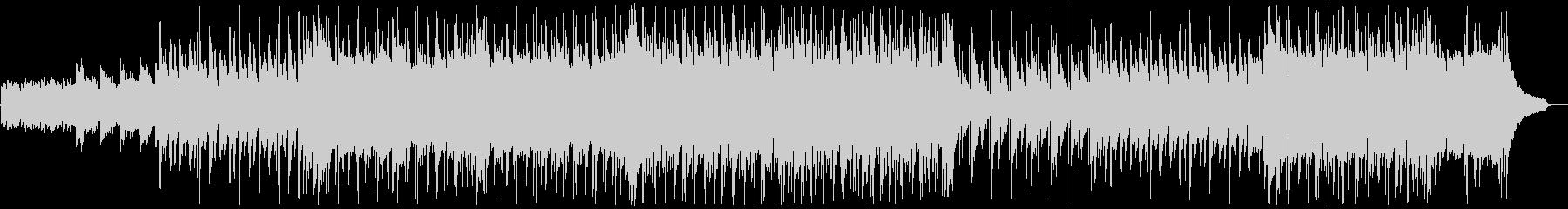 明るいフォークギターポップス:弦ぬきの未再生の波形