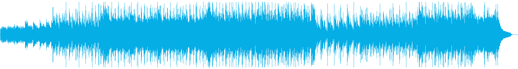 明るいフォークギターポップス:弦ぬきの再生済みの波形