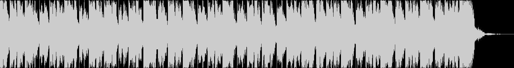 チルアウトおしゃれなトロピカルハウスcの未再生の波形