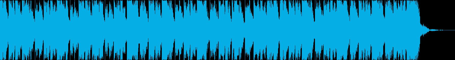 チルアウトおしゃれなトロピカルハウスcの再生済みの波形