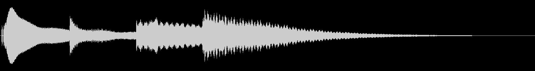 カーン ホラー系の演出音の未再生の波形