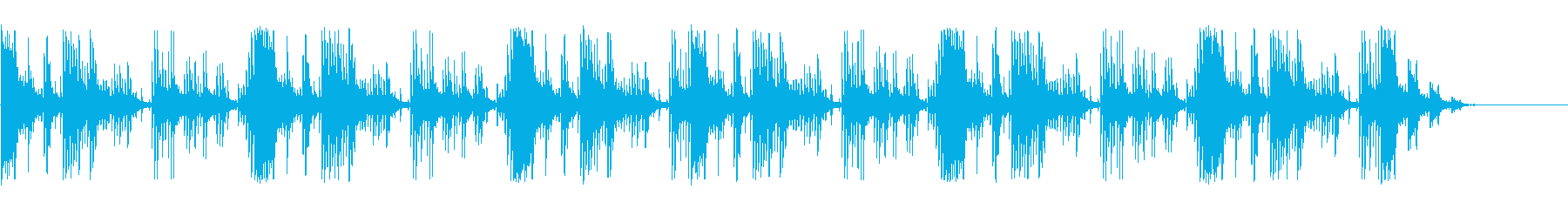 アコーステック サスペンス アクシ...の再生済みの波形