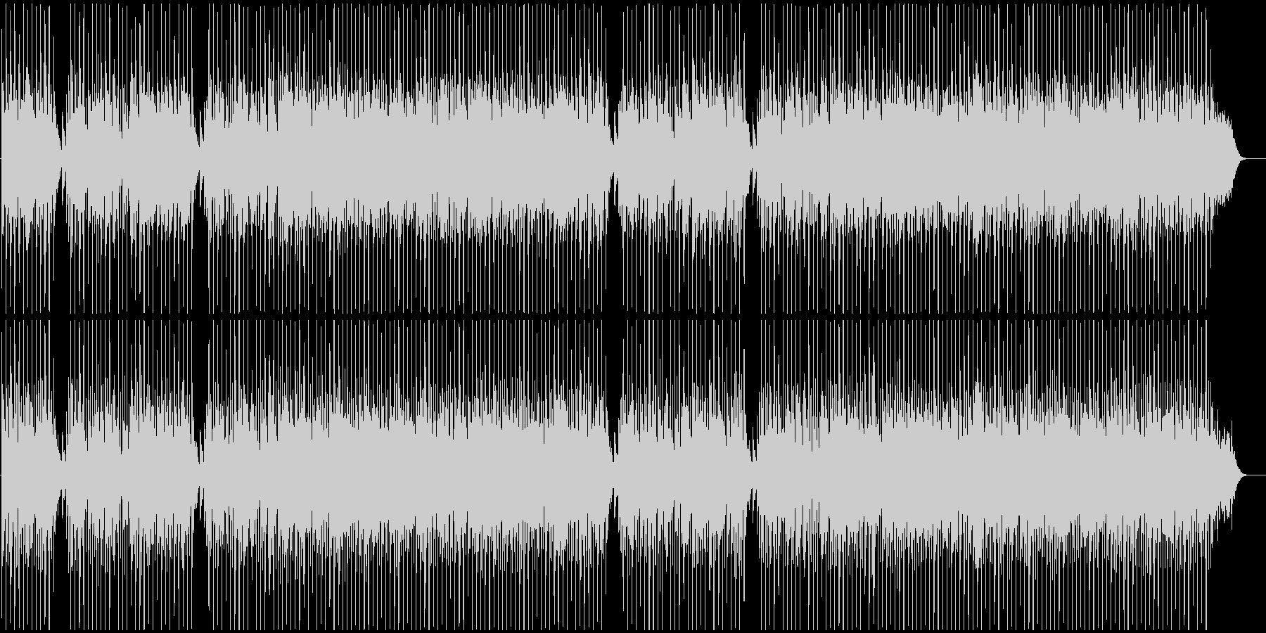 おしゃれで近未来的なBGMの未再生の波形