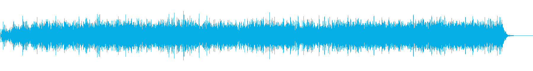 森林の神聖なイメージのカリンバの再生済みの波形
