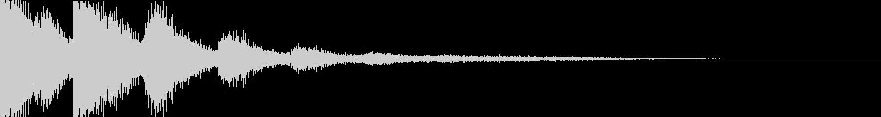 スネア:衝撃音・迫力・インパクトhの未再生の波形