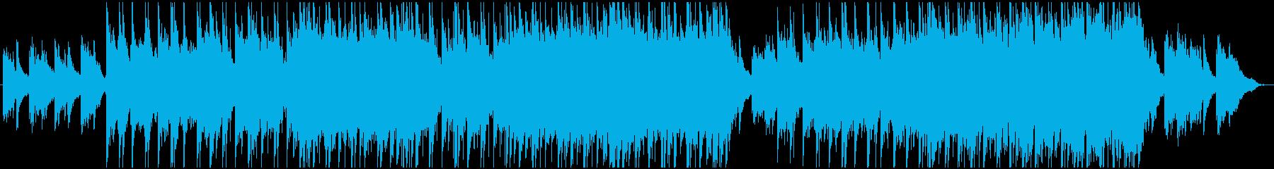 記憶に残るメロディーのエレクトロニックミの再生済みの波形