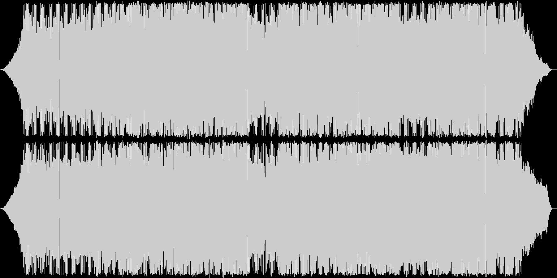 ギターを鳴り響く軽快なポップの未再生の波形