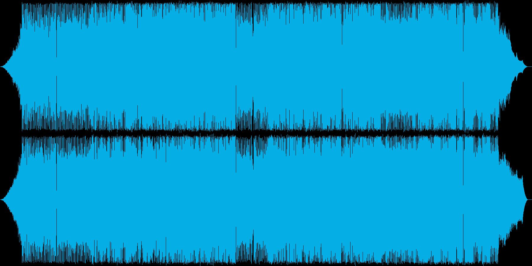 ギターを鳴り響く軽快なポップの再生済みの波形