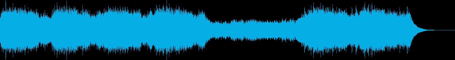 幻想的でオリエンタルなBGMの再生済みの波形