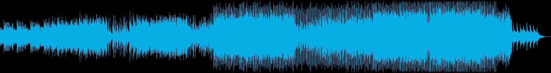 壮大で感動的!アコギ・ピアノ・バイオリンの再生済みの波形