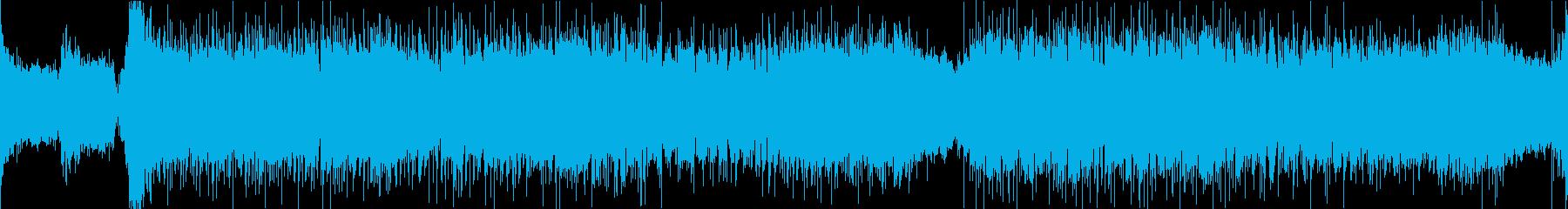 スピード感のある激しいボス戦曲/ループ可の再生済みの波形