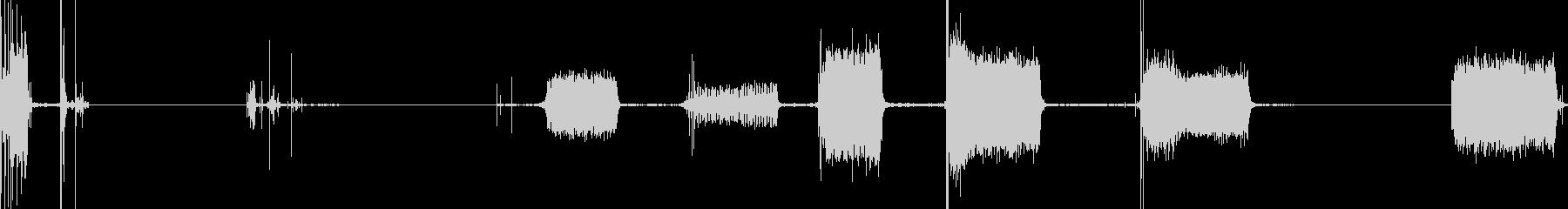 電動リフト:クイックリフト調整、5...の未再生の波形
