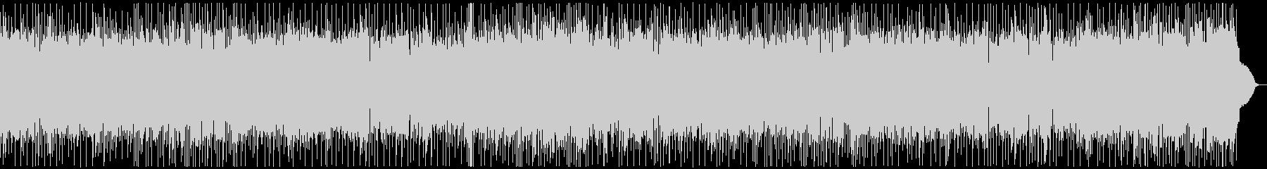 エレキギターソロのロックンロールナンバーの未再生の波形