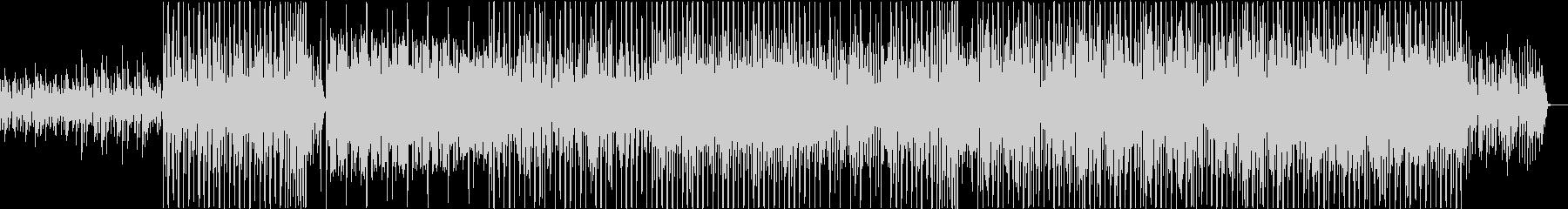 和風エレクトロニックGlitchHopの未再生の波形