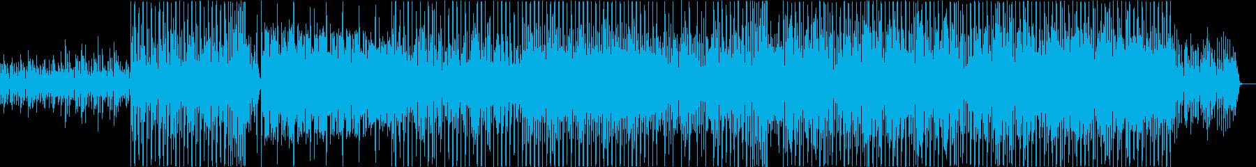 和風エレクトロニックGlitchHopの再生済みの波形
