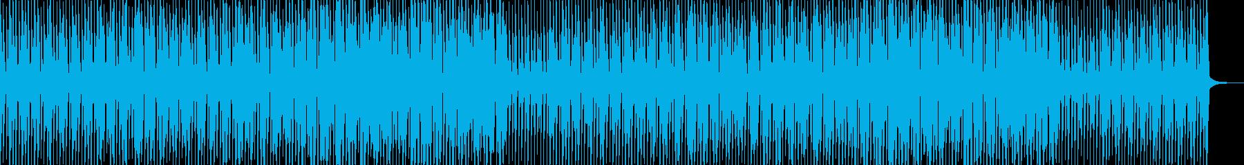 ほのぼのポップな日常系の再生済みの波形