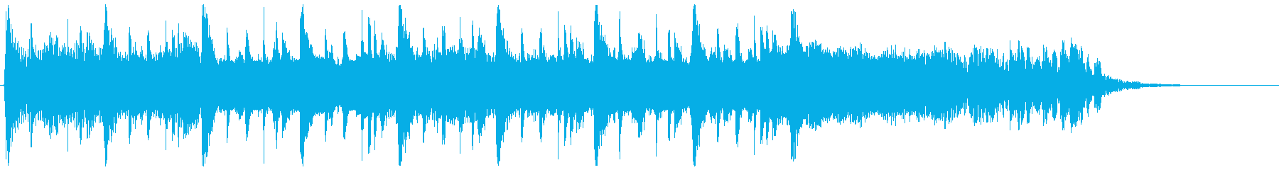 エンジン音をギターで表現したアイキャッチの再生済みの波形