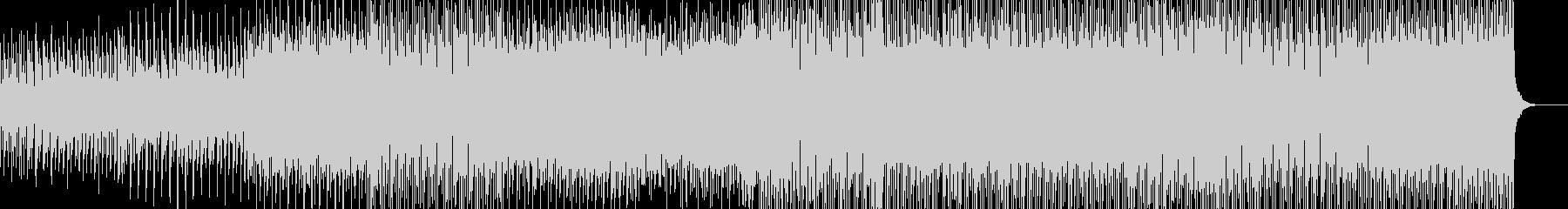 平調子の幻想的なアンビエントハウスの未再生の波形