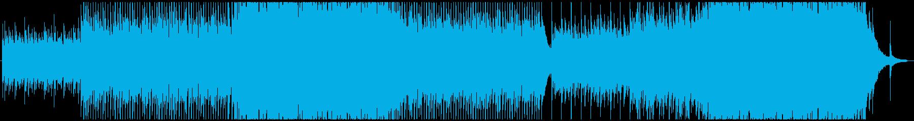 爽やかさのある軽快なPopsの再生済みの波形