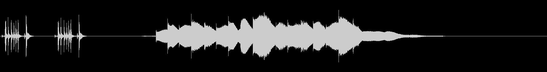ジングル用オルゴール楽曲08-1の未再生の波形