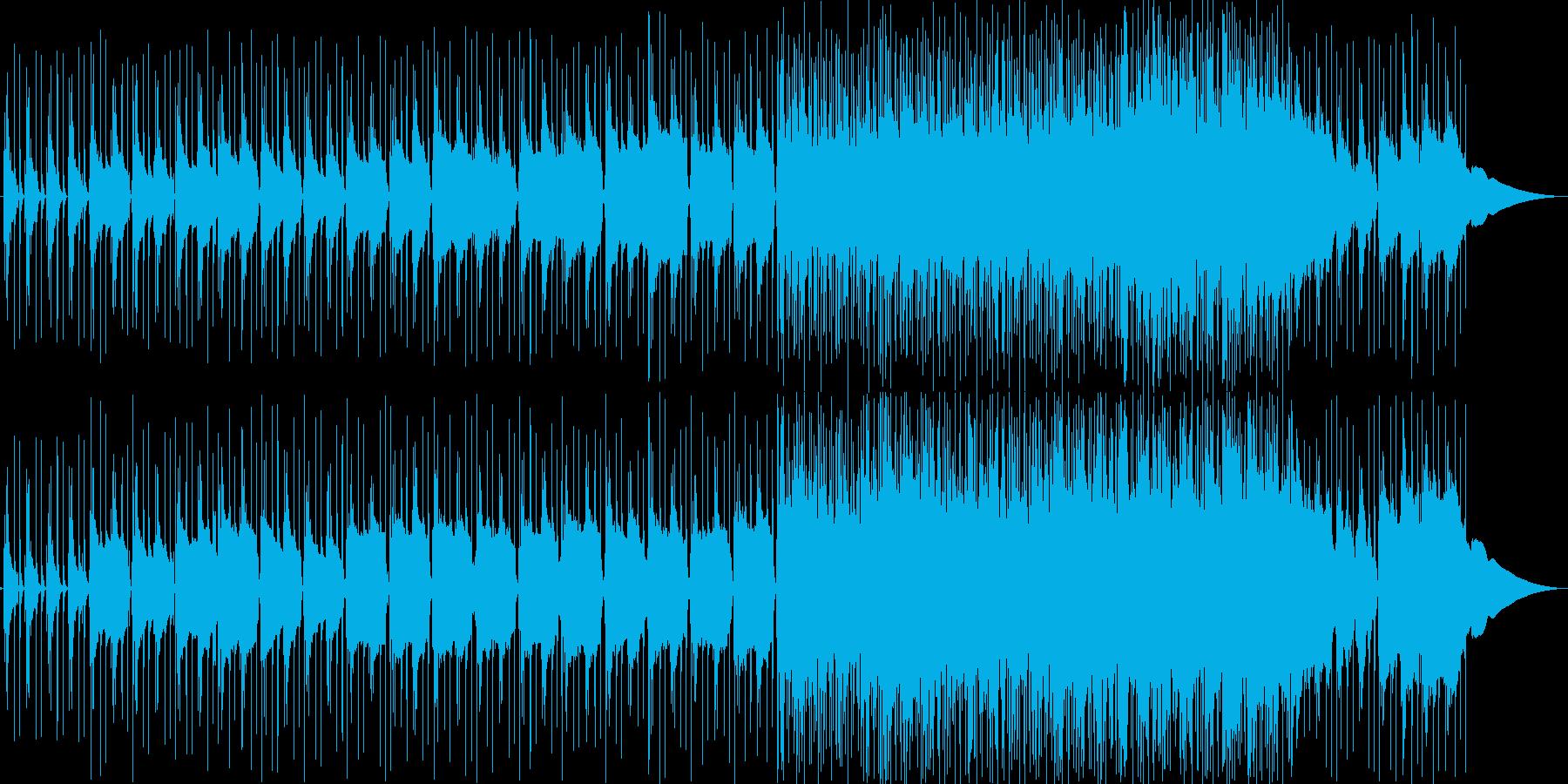 リズムギターmidiトランペット風の音…の再生済みの波形