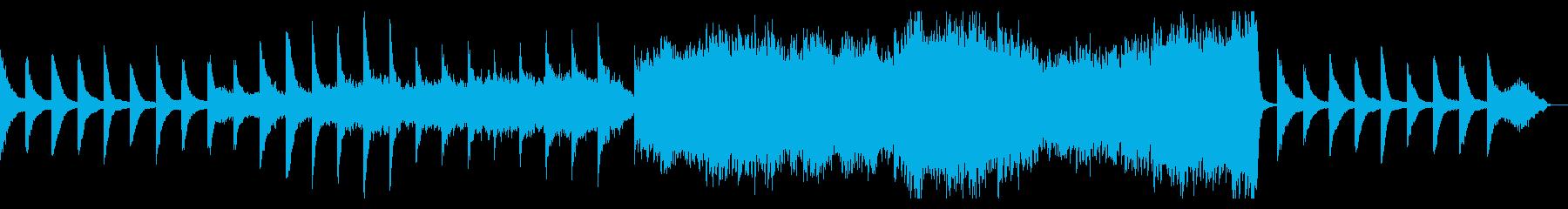 優しいノスタルジックな曲:フルバージョンの再生済みの波形