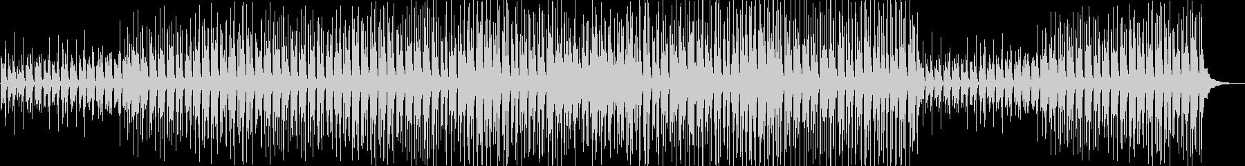 ほのぼの陽気な軽快サウンドの未再生の波形