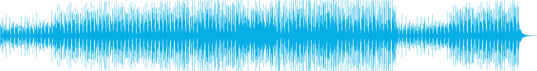 ほのぼの陽気な軽快サウンドの再生済みの波形