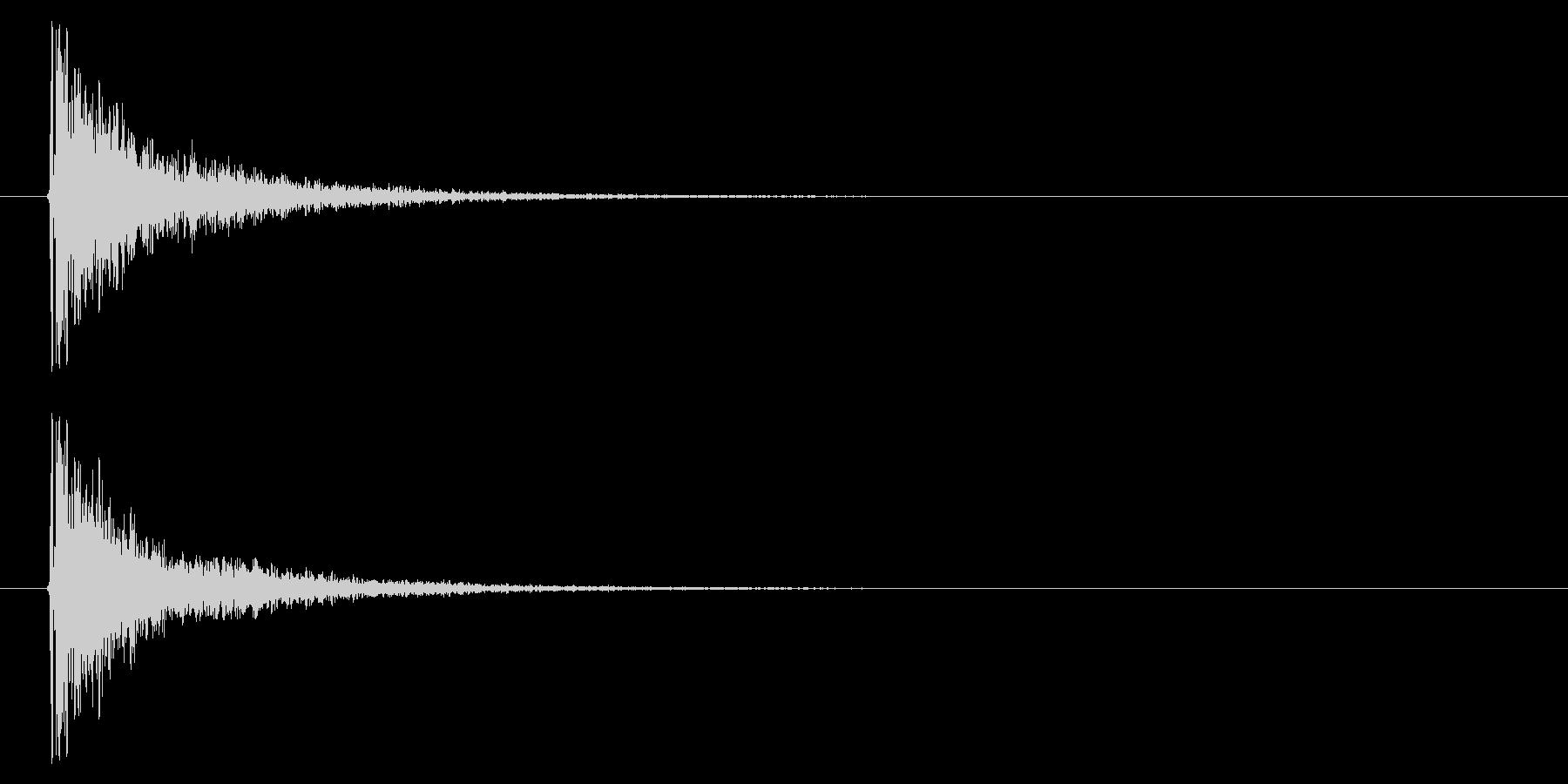打撃08-5の未再生の波形