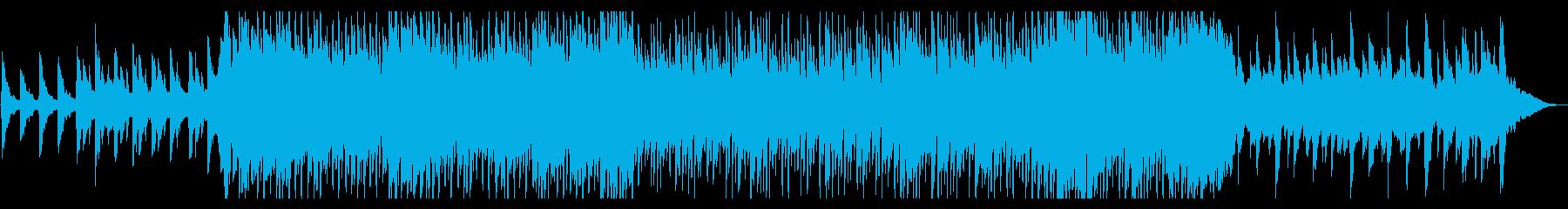 幻想ファンタジー系オープニングケルト風曲の再生済みの波形