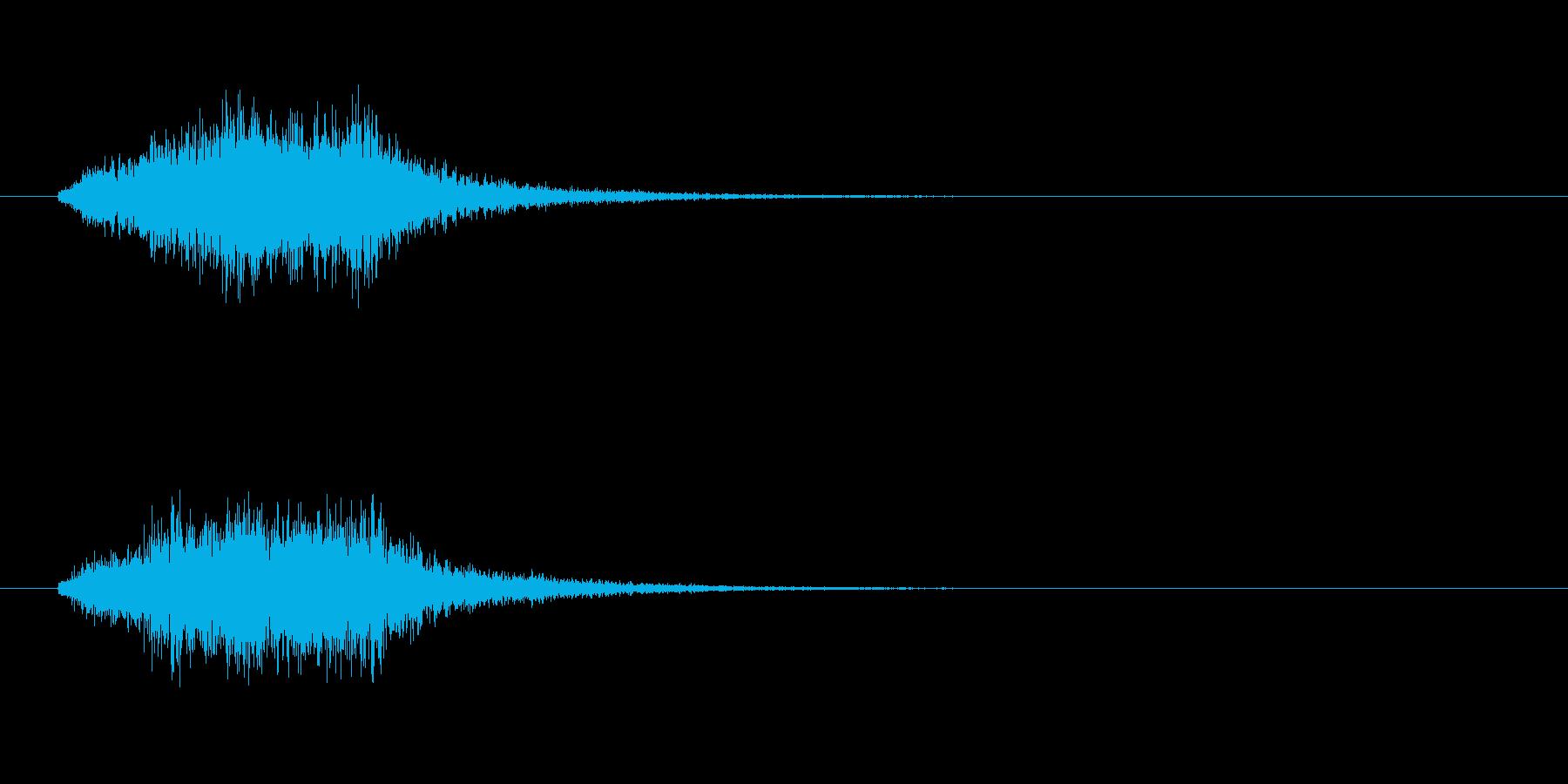 ボイス(宇宙人、エイリアン、未確認生物)の再生済みの波形