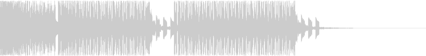 【EDM】クラブダンスミュージック3の未再生の波形