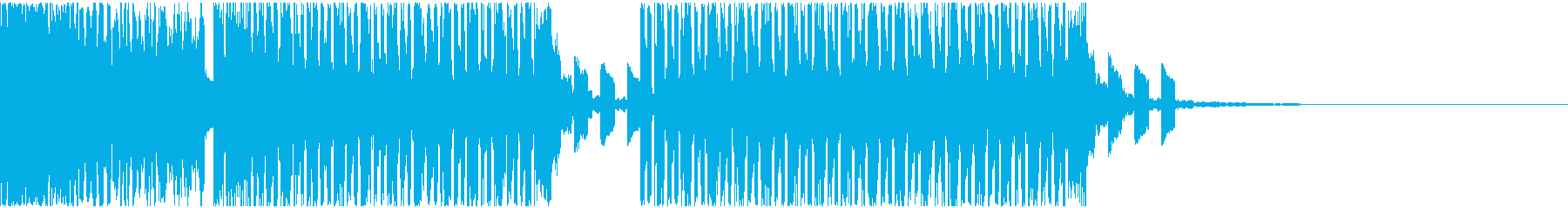 【EDM】クラブダンスミュージック3の再生済みの波形