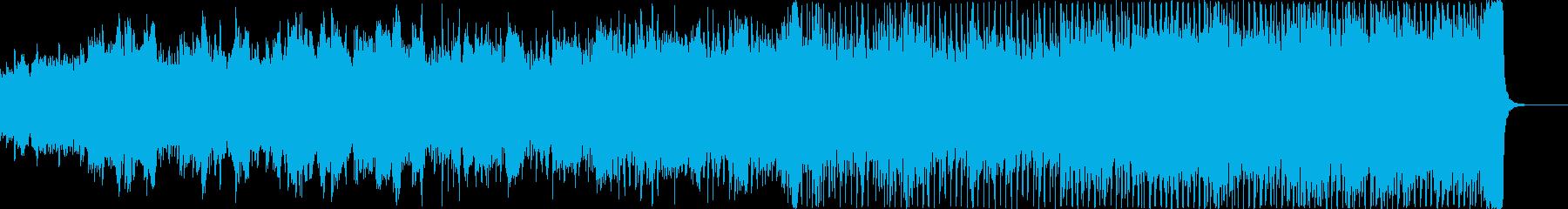 ノスタルジックで爽やかな映像、CMにの再生済みの波形
