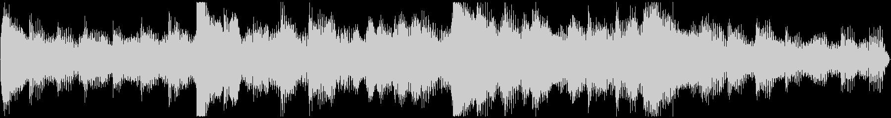 <Loop>駆け出す ピアノの未再生の波形