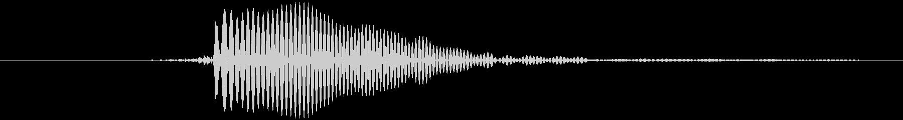 ピッ (とても高い) テロップ音など の未再生の波形