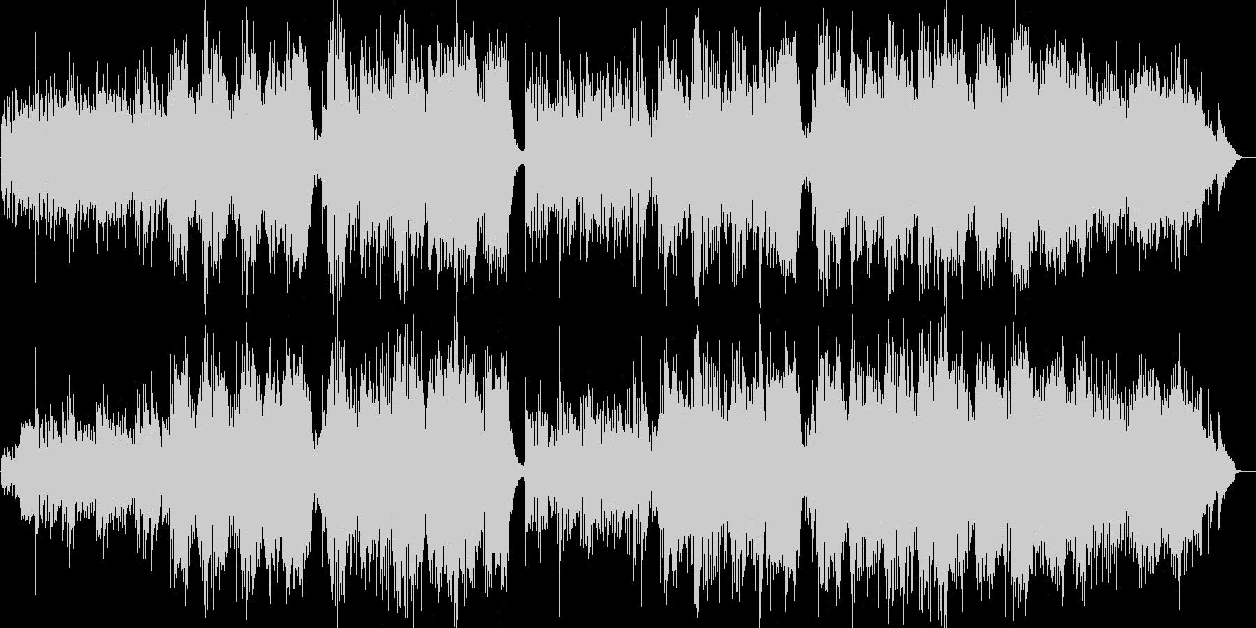 叙情的で切ない洋楽ブルーグラスの未再生の波形