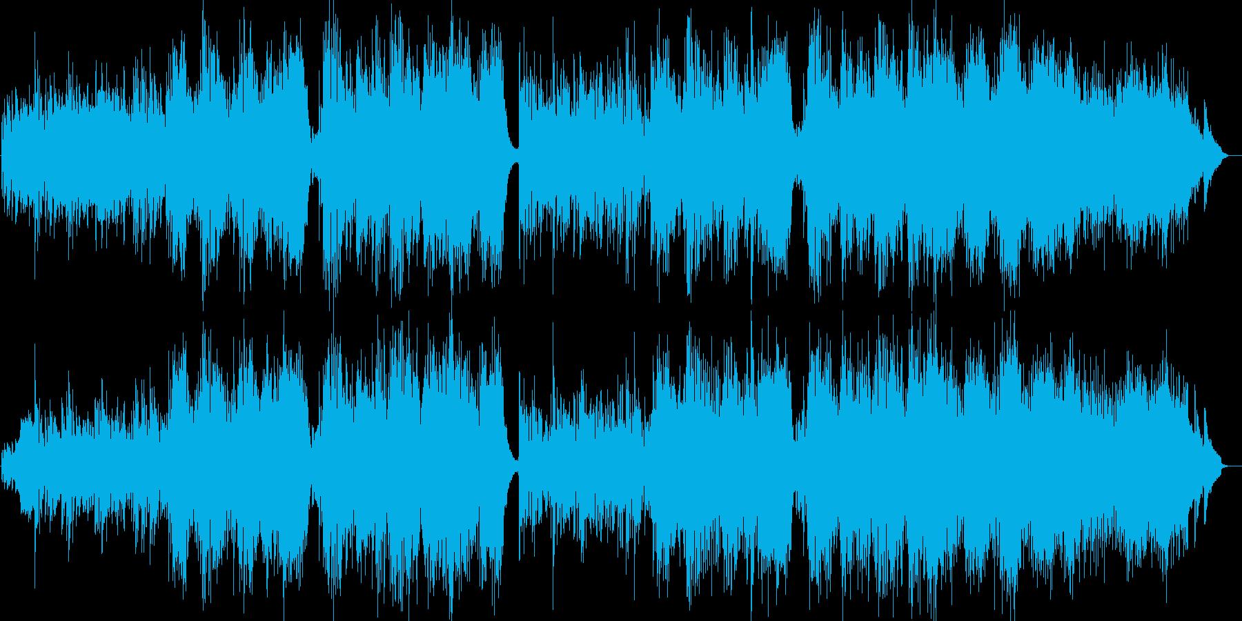 叙情的で切ない洋楽ブルーグラスの再生済みの波形
