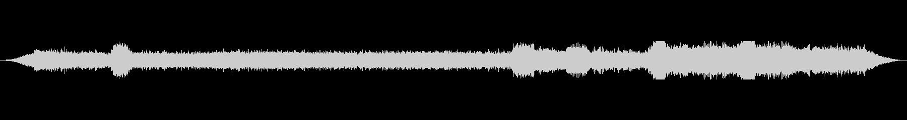 マシンコンプレッサーエアガンブラスの未再生の波形