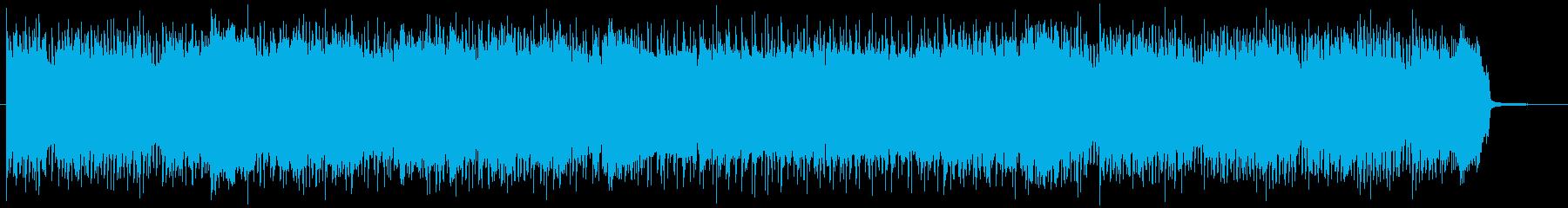 和ものの緊張感あるメタルロックの再生済みの波形