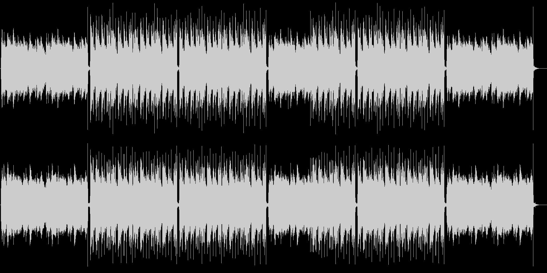 おしゃれでメロウ、高級感のあるチルアウトの未再生の波形