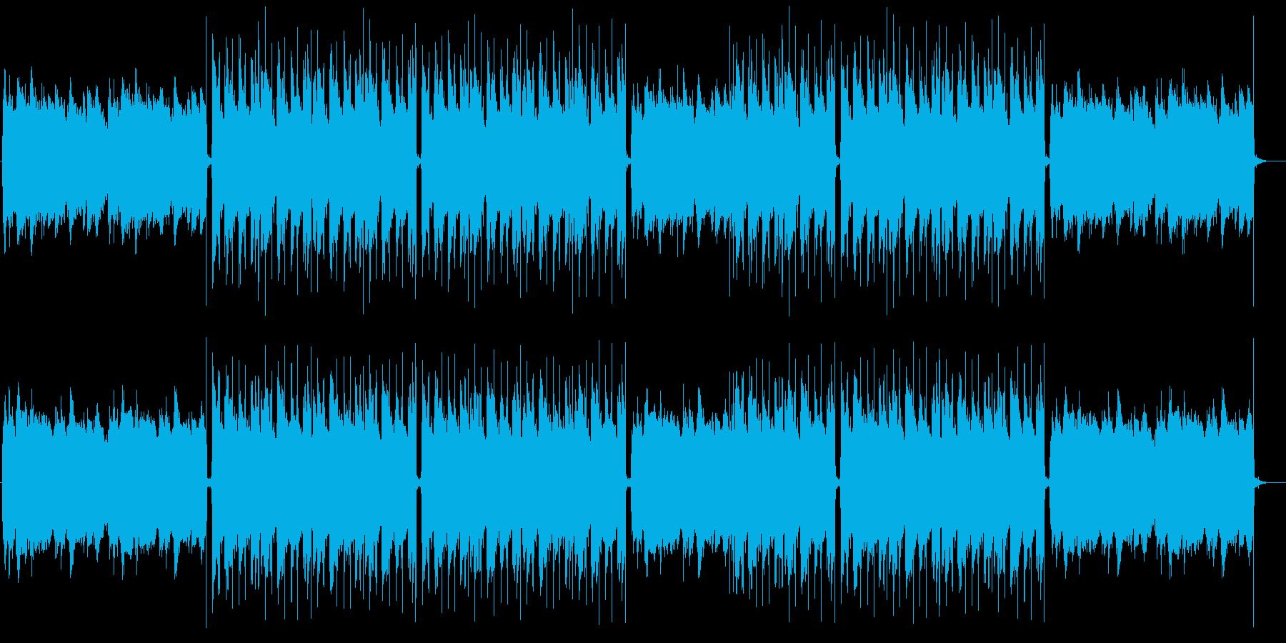 おしゃれでメロウ、高級感のあるチルアウトの再生済みの波形