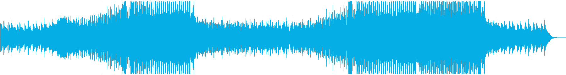 明るくEDM調のポップス 企業VPの再生済みの波形