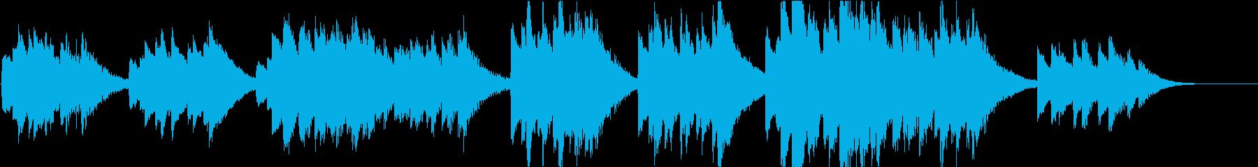 時報・チャイム風の名曲のメロディ・19の再生済みの波形