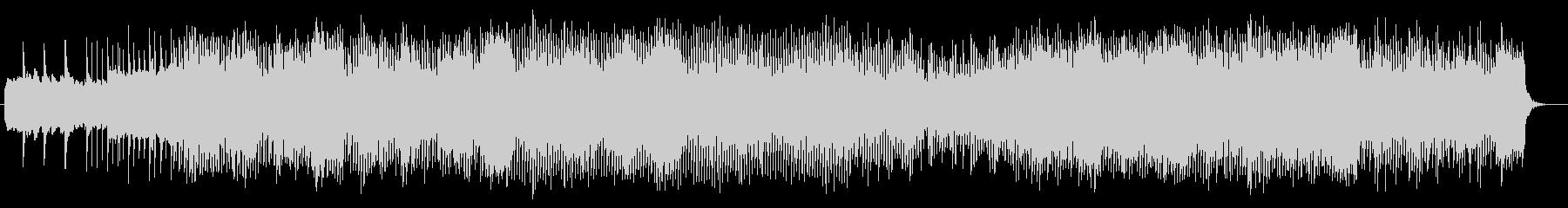 緩やかで繊細なシンセサウンドの未再生の波形