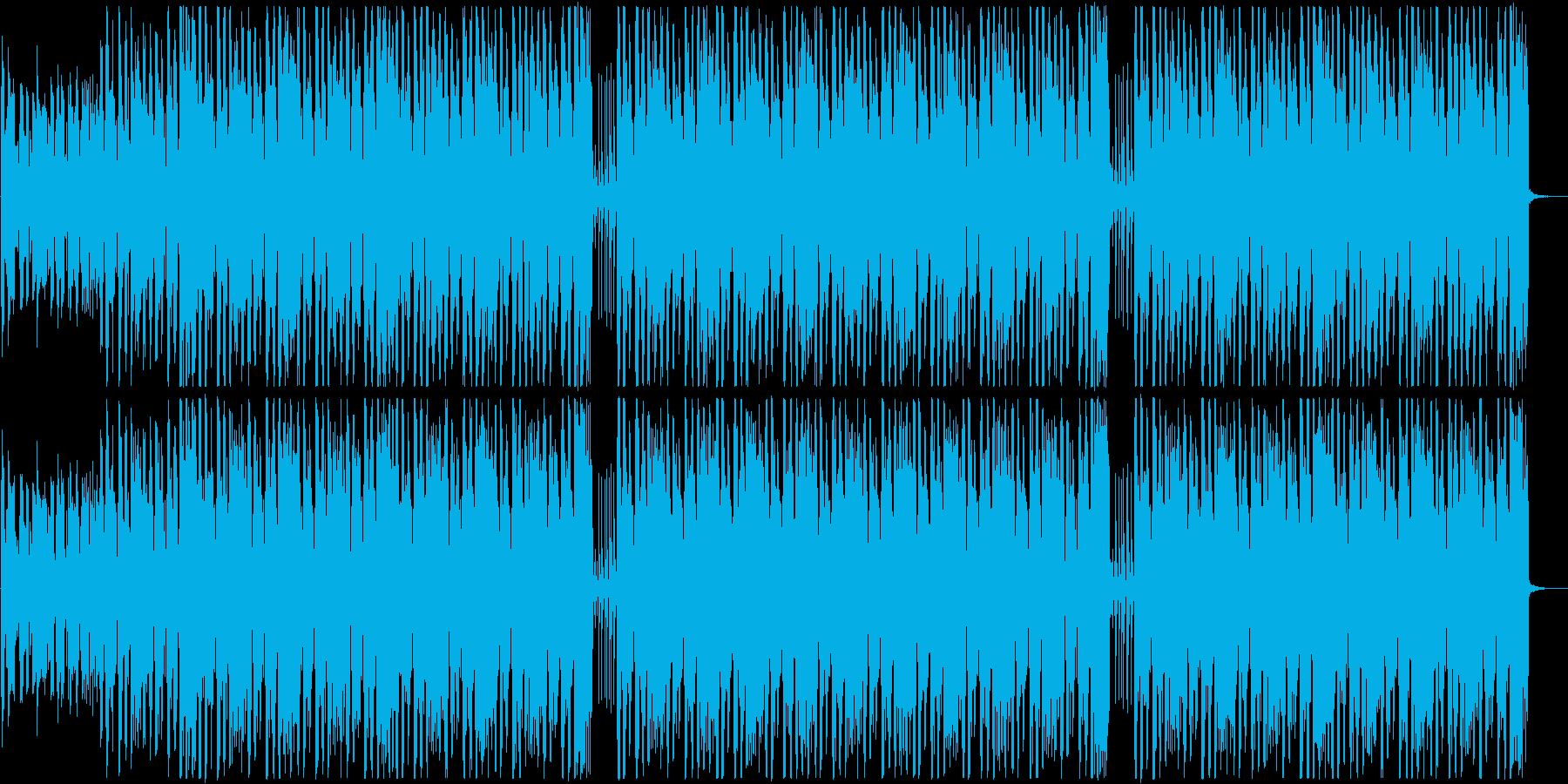 色気のあるサックスが入ったファンク♪の再生済みの波形