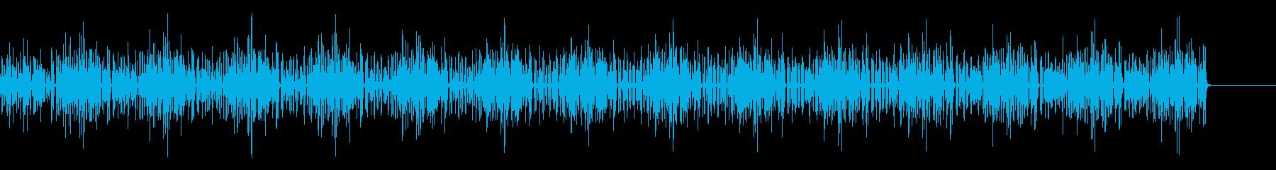 おもちゃのピアノによるかわいらしい曲の再生済みの波形