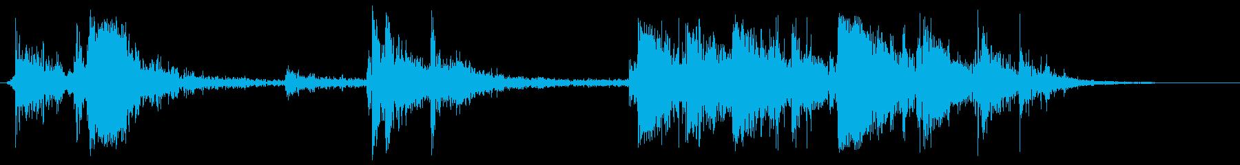 ガチャガチャをGETの再生済みの波形